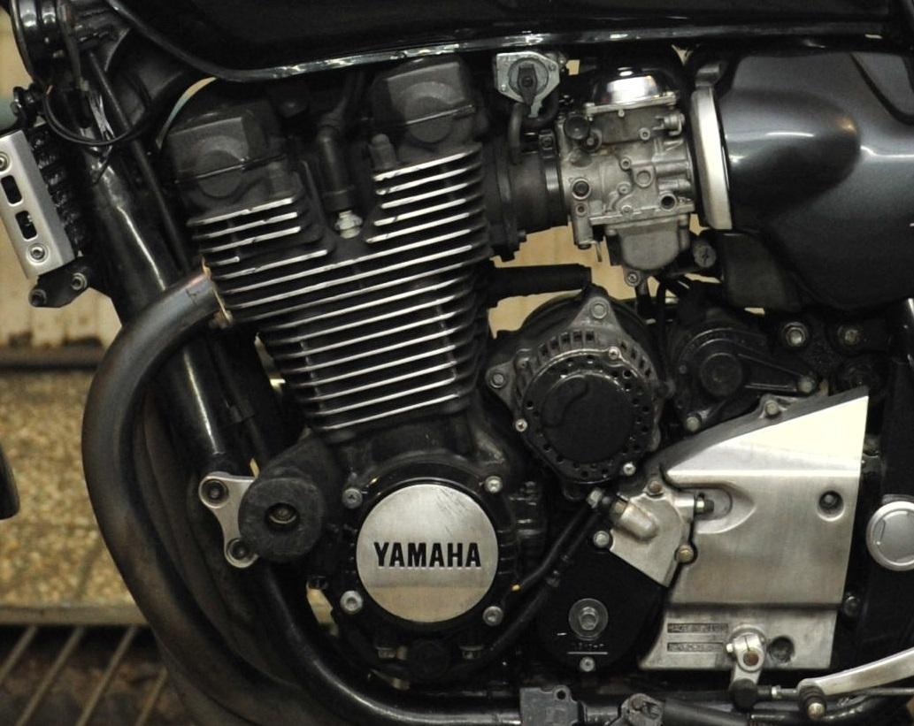 Покраска двигателя мотоцикла